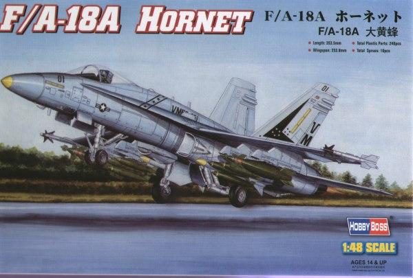 Hobby Boss 1:48 McDonnell-Douglas F/A-18A Hornet
