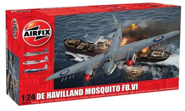 Airfix 1:24the Scale de Havilland Mosquito FB Mk.VI