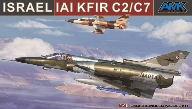 AMK 1:48 IAI C-2/C-7 Kfir