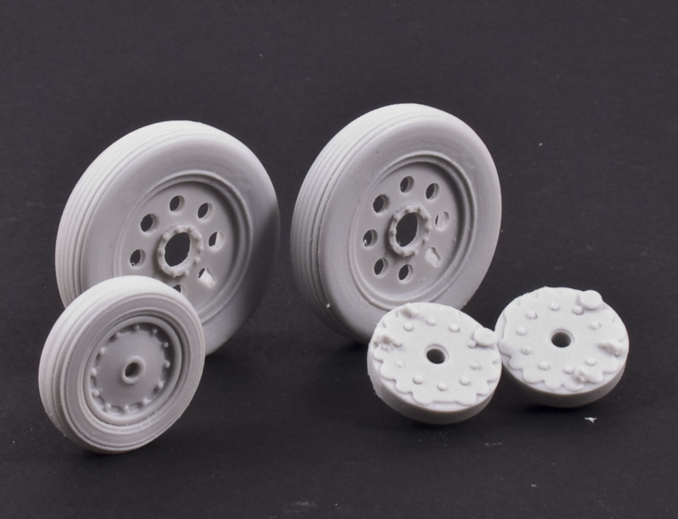 MST32038 BAC/EE Lightning F.1/F.2/F.3a Wheels with Separate Brake Drums