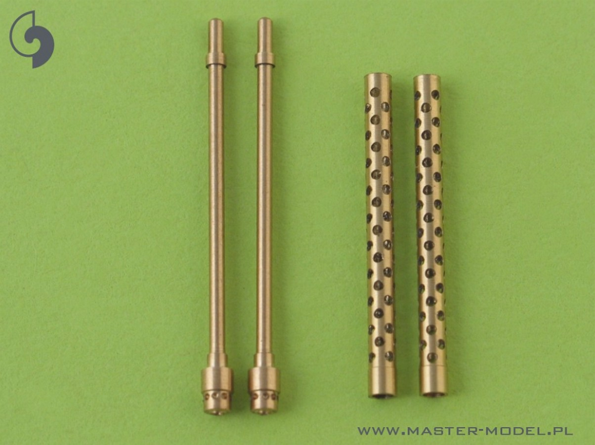 Master 32-008 1:32 Japanese Type 97 7,7mm machine gun barrels (2pcs)