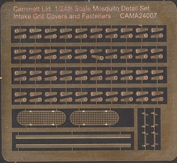 MST24009 Mosquito Intake Grilles & Cowling Fasteners (Photo Etched)
