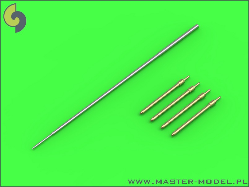 48094 Mikoyan MiG-19PM (FarmerE) - missle rails nose parts (4pcs) & Pitot Tube