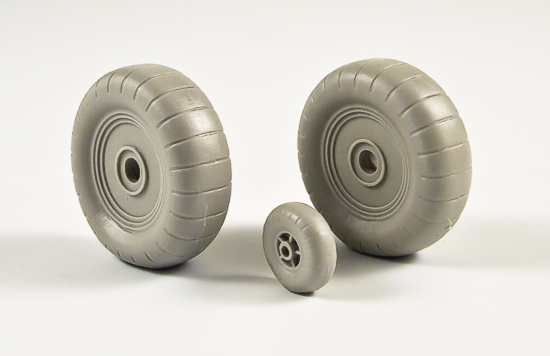 MST32052 Heinkel He 111P Weighted Wheels DISCONTINUED