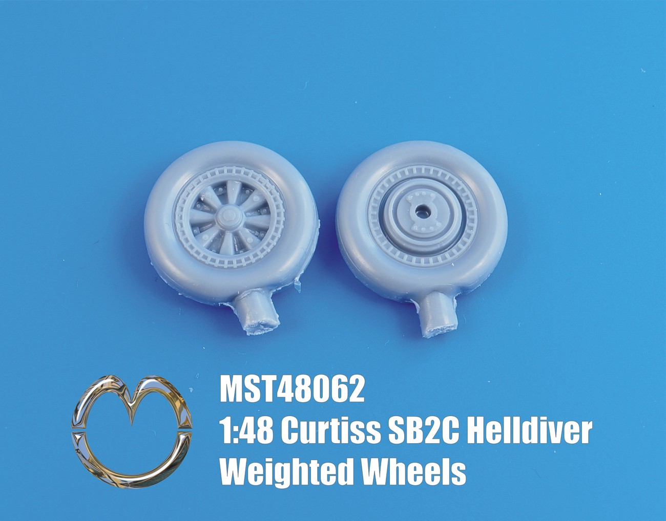 MST48062 Curtiss SB2C Helldiver Weighted Wheels