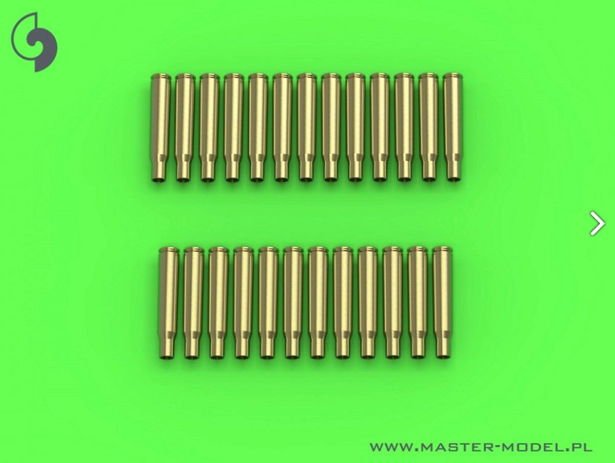 MASTER 1:35 GM35022 M1919 Browning .30 caliber (7.62mm) - empty shells (25pcs)