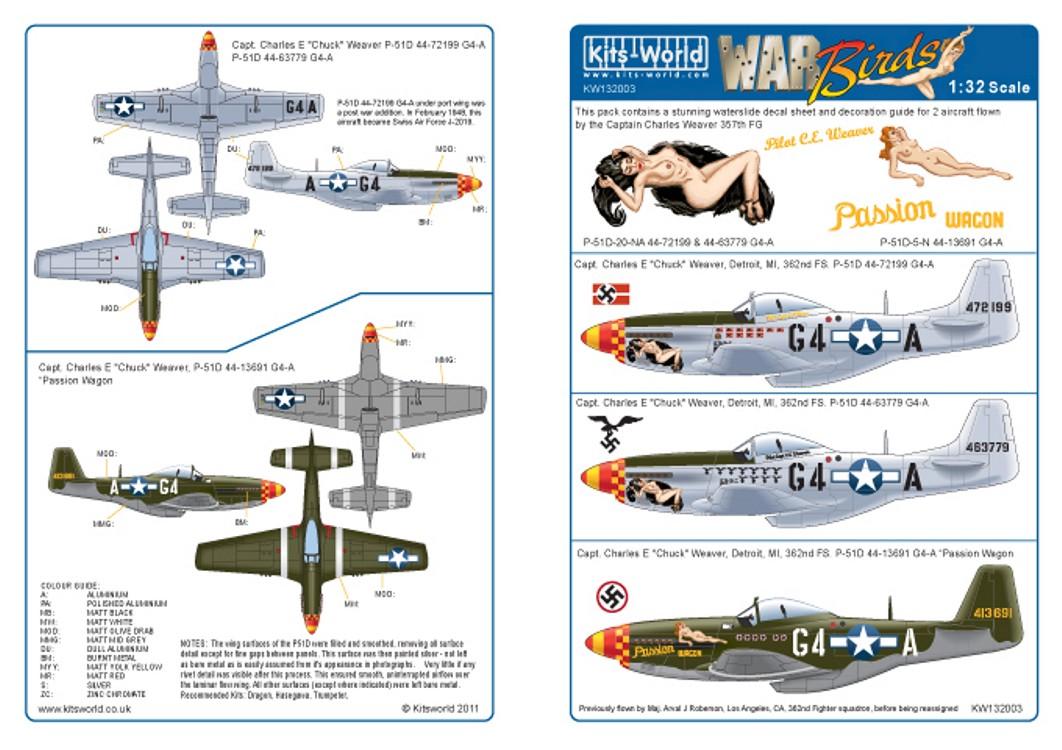 132003 North-American P-51D Mustang