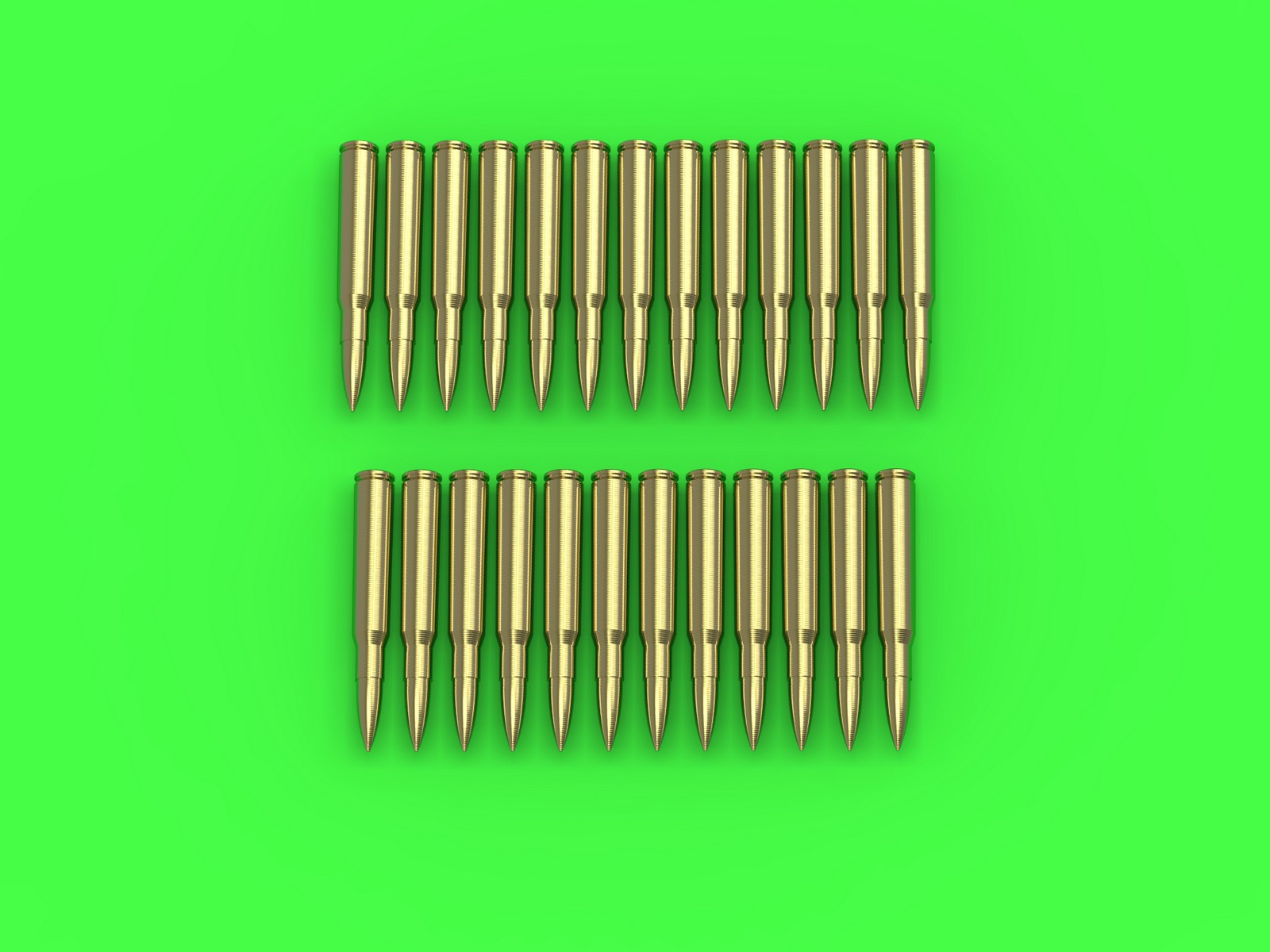 MASTER 1:35 GM35023 M1919 Browning .30 caliber (7.62mm) - cartridges (25pcs)