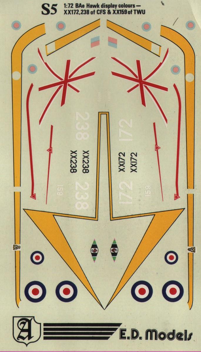 S5 RAF BAe Hawk T.1 Airshow display aircraft