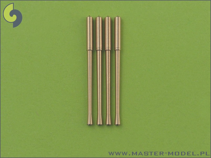48021 Japanese Type 99 20mm Mark 2 gun barrels (4pcs)
