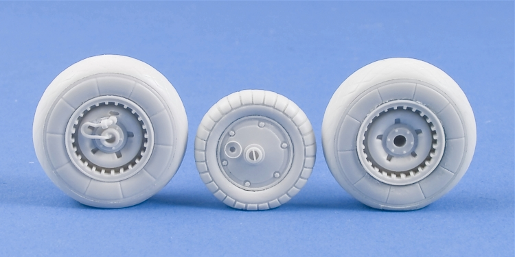 MST32005 Messerschmitt Me 262A/Me 262B weighted resin wheels set A