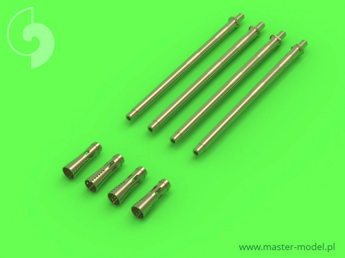 MASTER 1:35 GM35006 German 20mm L/65 Flak 38 and Flakvierling 38 gun barrels (4pcs)