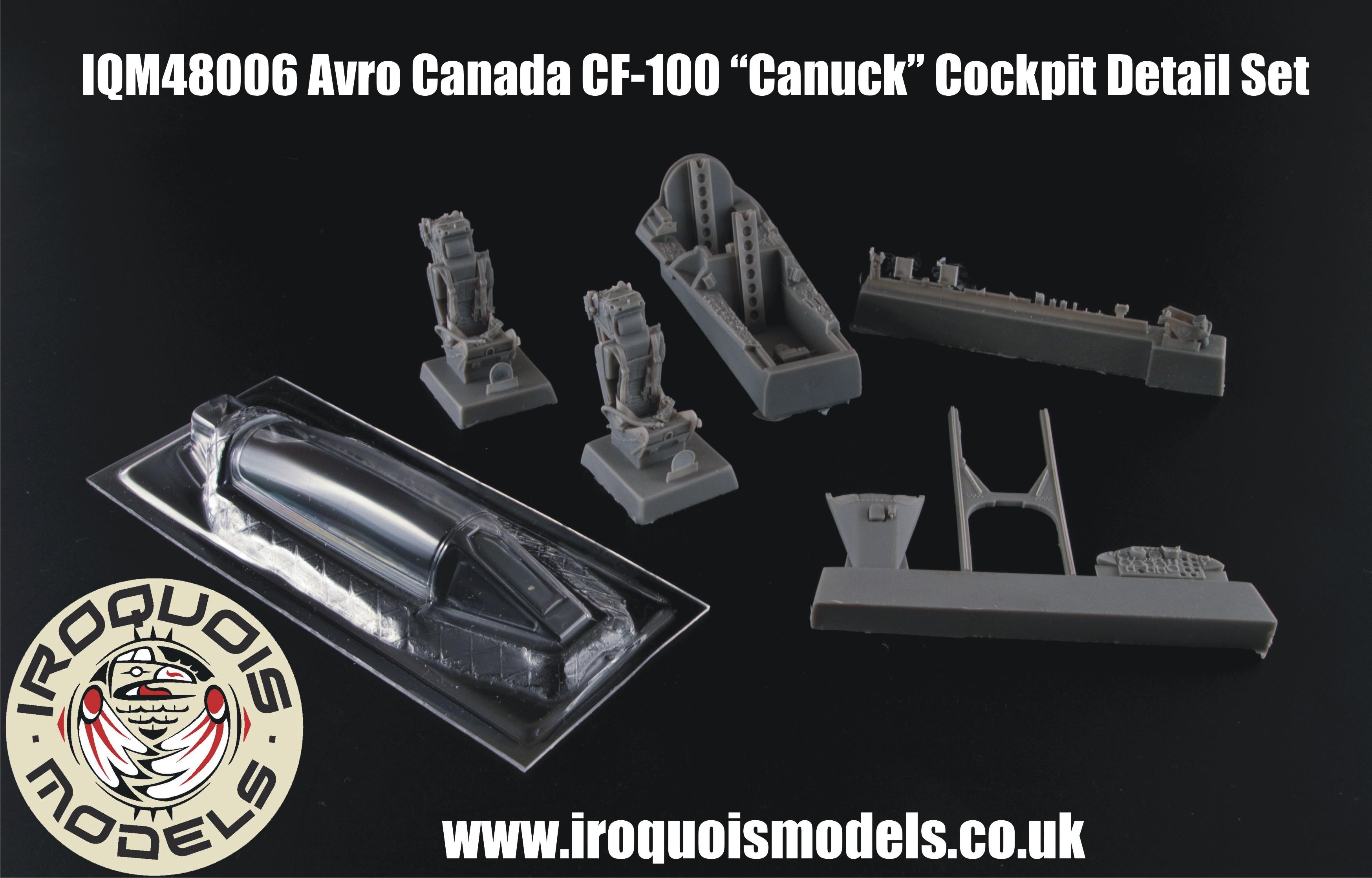 IQM48006 Avro-Canada CF-100 Mk.IV interior detail set