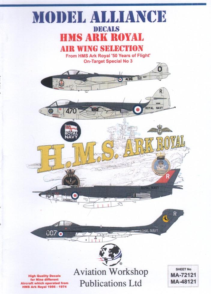 48121 HMS Ark Royal Air Wing Selection