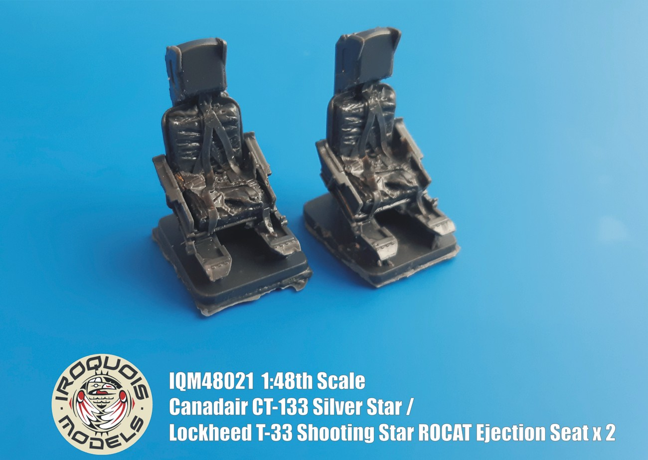 IQM48021 Canadair CT-133 Silver Star ROCAT Ejection Seat x 2