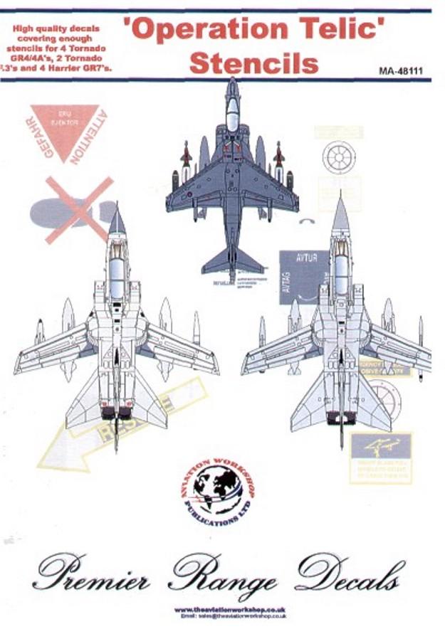 48111 Operation Telic Stencils