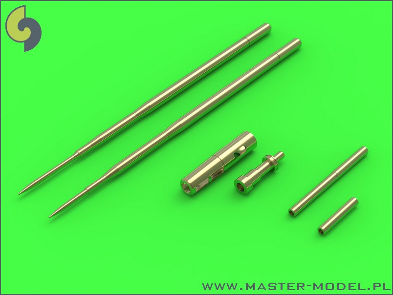 48090  Mikoyan MiG-17A/MiG-17P/MiG-17F - 37mm and 23mm gun barrels set & Pitot Tubes