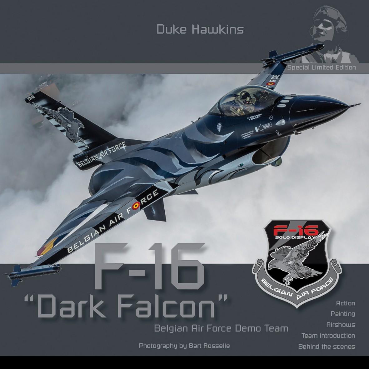 F-16 Dark Falcon Demo Team