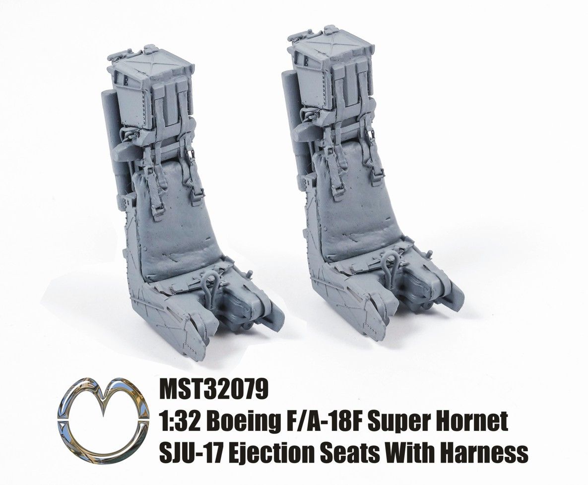 MST32079 Boeing F/A-18F Super Hornet Ejection Seats With Harness