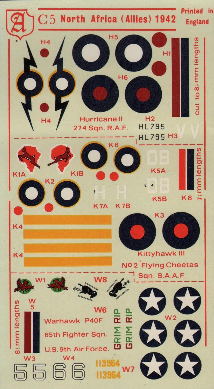 C5 North Africa (Allies) 1942