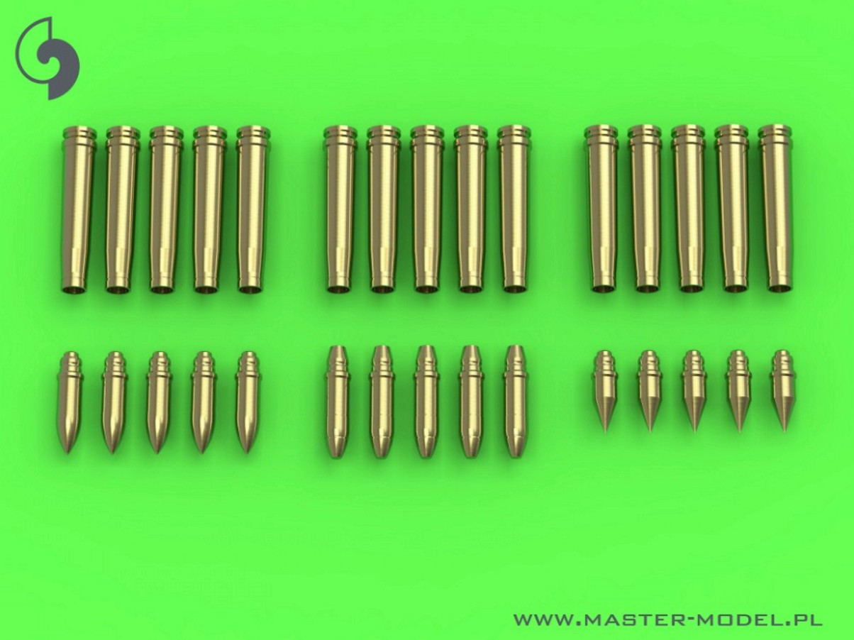 MASTER 1:35 GM35019 German 2cm ammunition (cal. 20x138B) for Flak 30/38, KwK 30/38 - shells