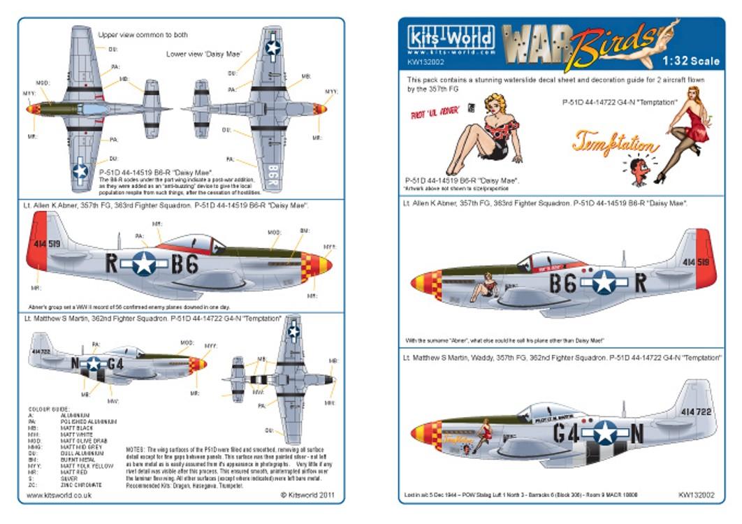 132002 North-American P-51D Mustang