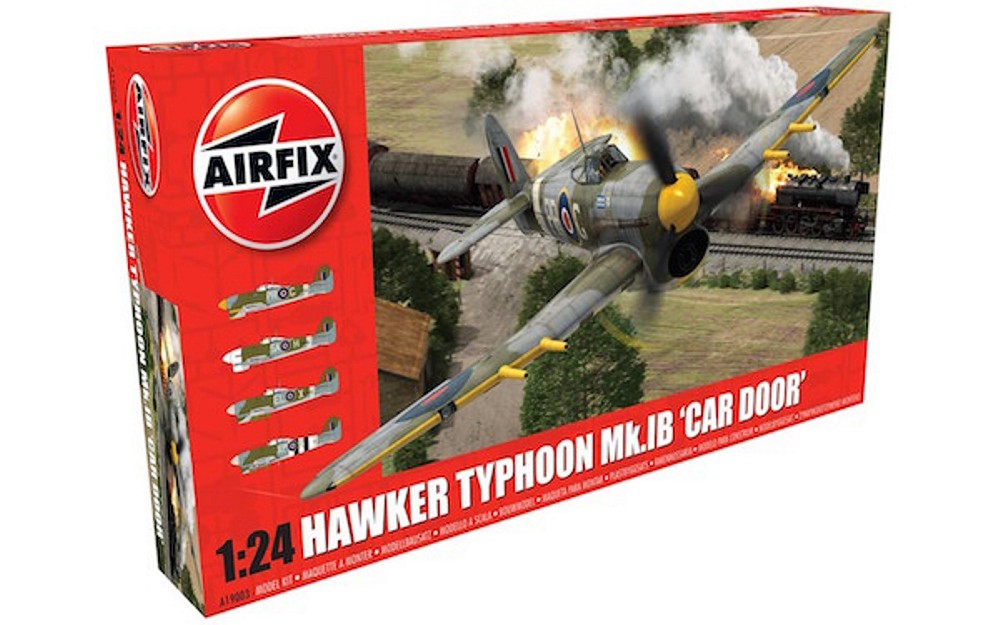 Airfix 1:24the Scale Hawker Typhoon Mk.IB 'Car Door'