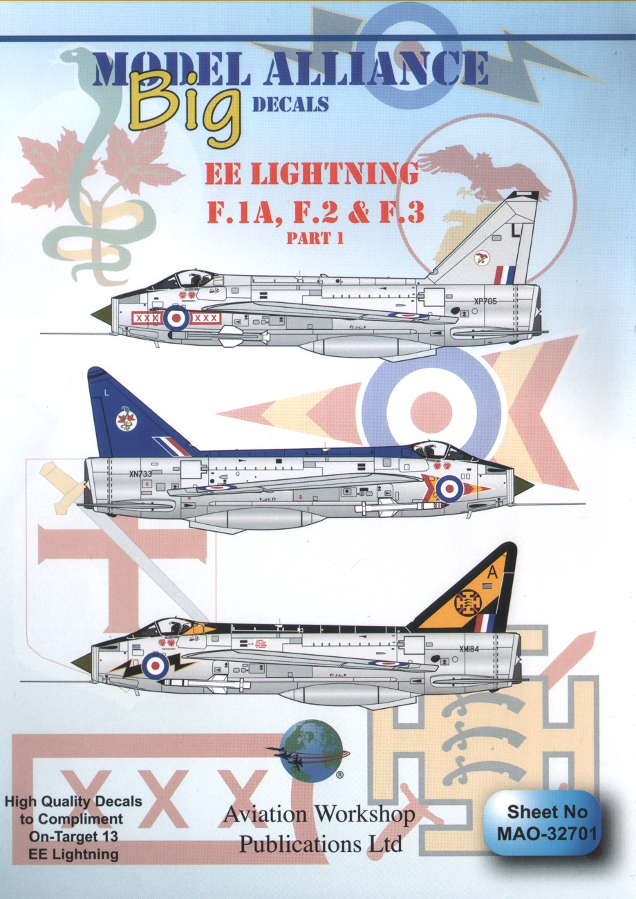 32701 BAC/EE Lightning F.1A, F.2 and F.3 Part 1