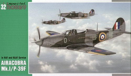 Special Hobby 1:32 Bell Airacobra Mk.I / Bell P-39F Airacobra In RAF and RAAF Service