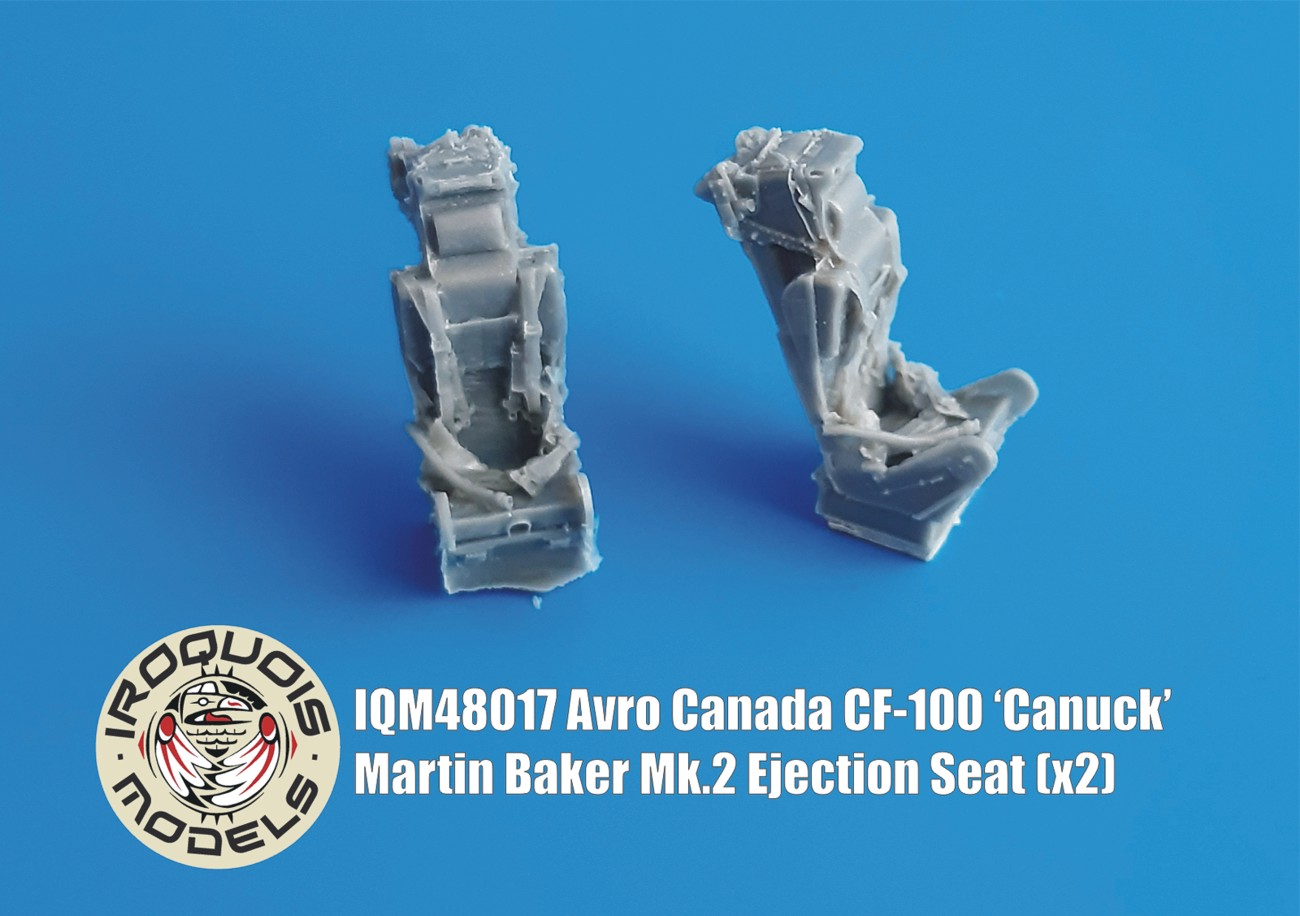 IQM48017 Avro Canada CF-100 Canuck Martin Baker Mk.2 Ejection Seat (x2)