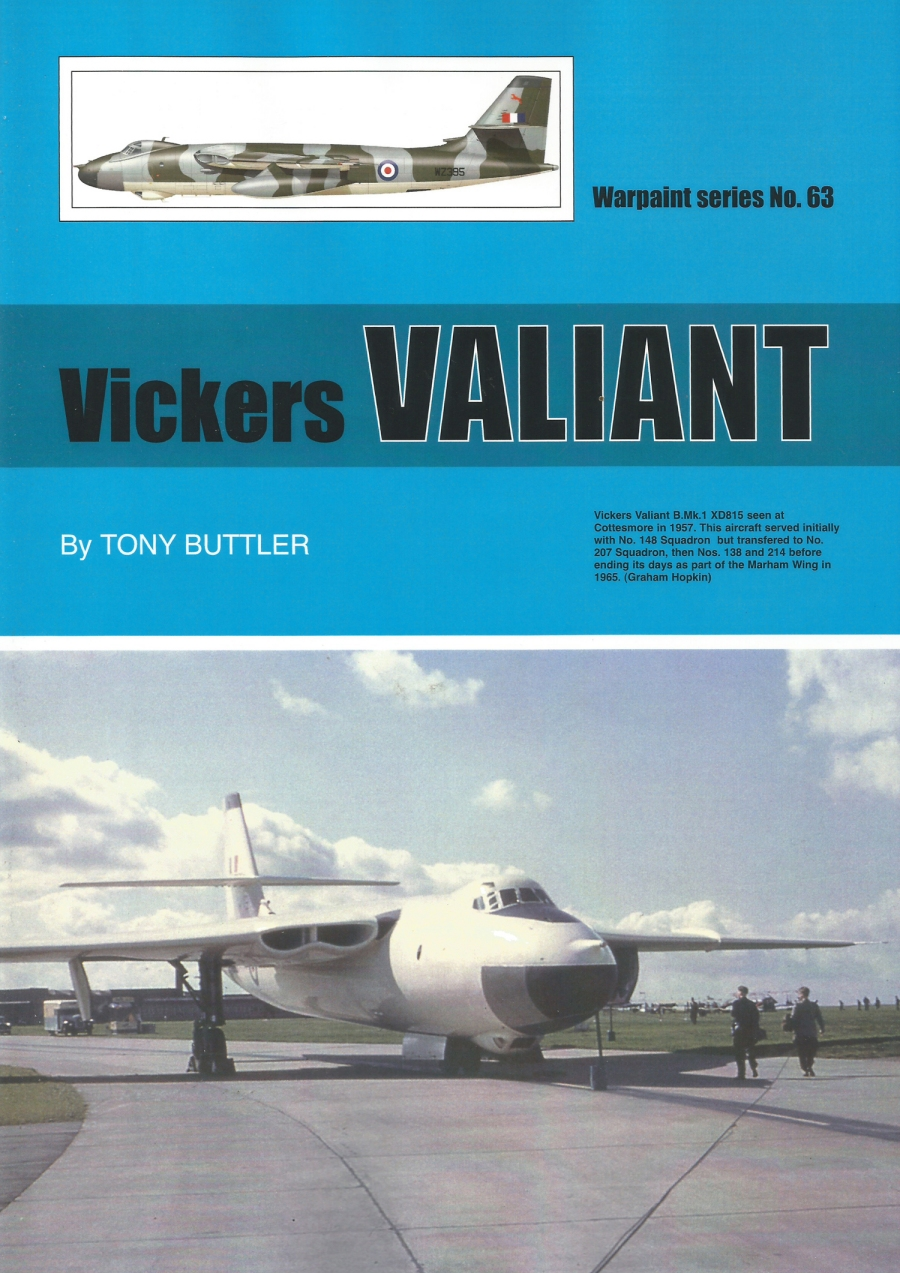 Warpaint Series 63 Vickers Valiant Mk.1 by 'Tony' Buttler