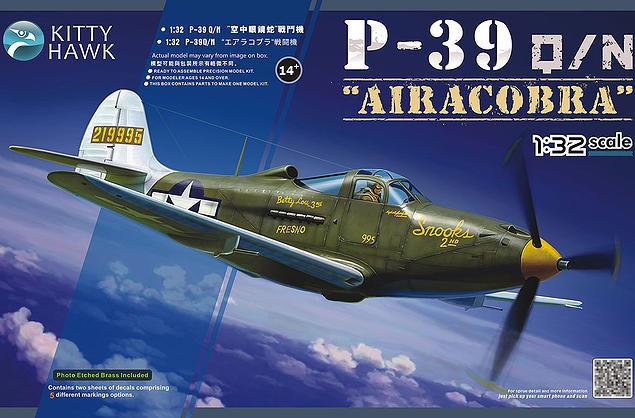Kitty Hawk 1:32 Bell P-39Q/N Airacobra