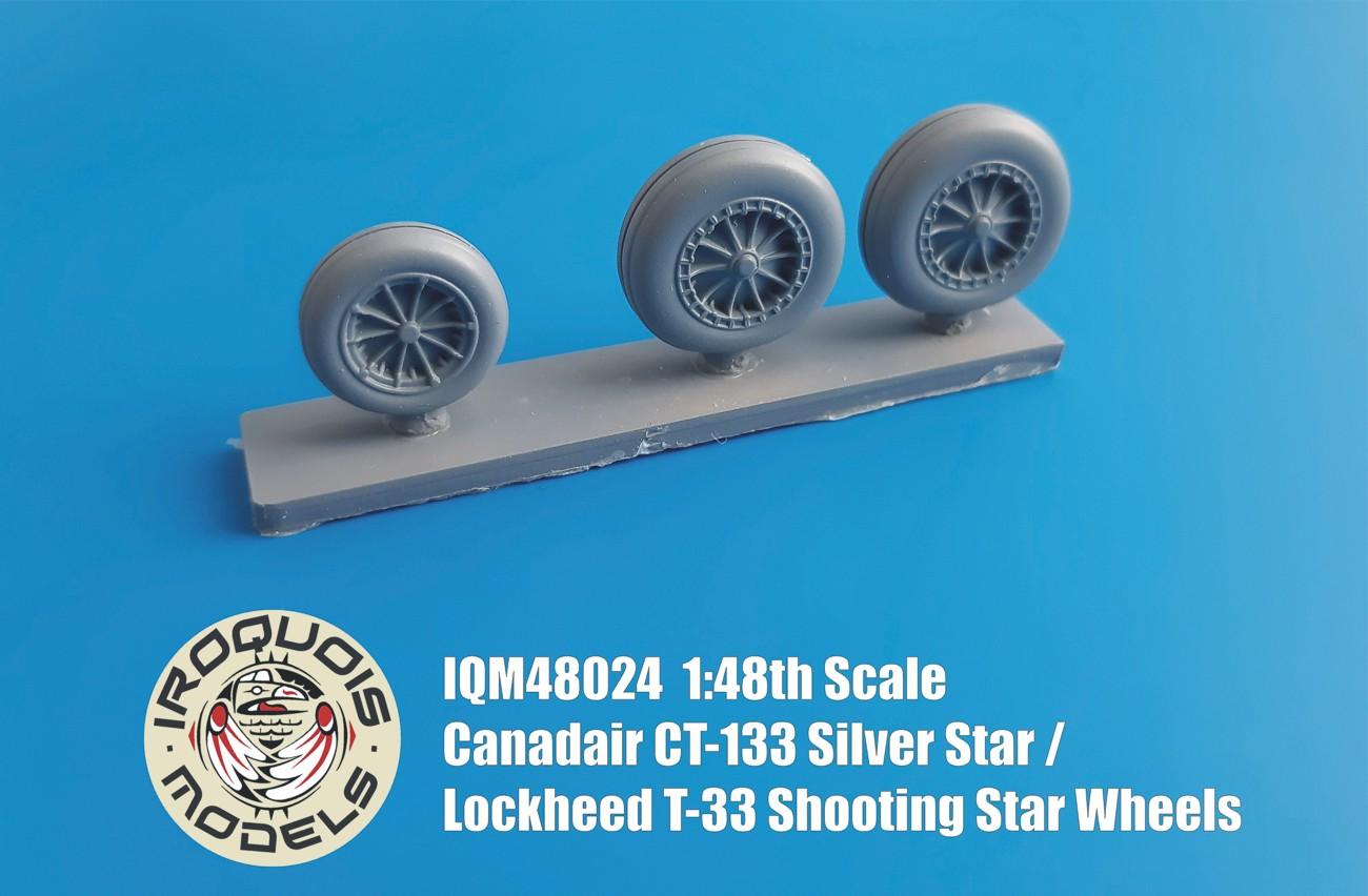 IQM48024 Canadair CT-133 Silver Star Wheels