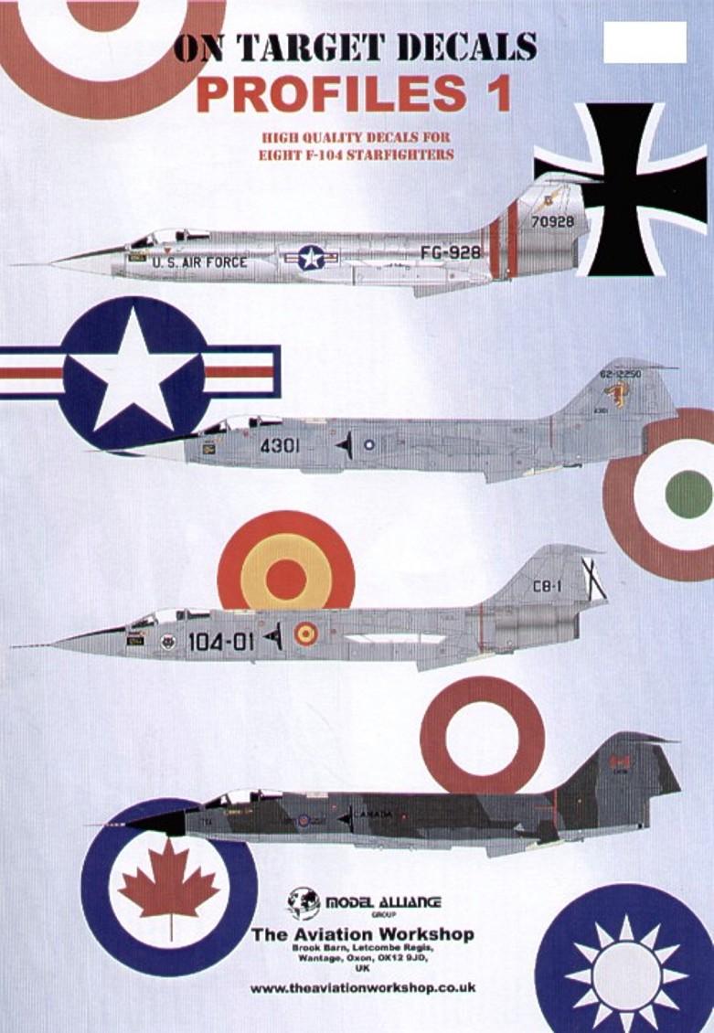 48108 On Target Lockheed F-104 Starfighters