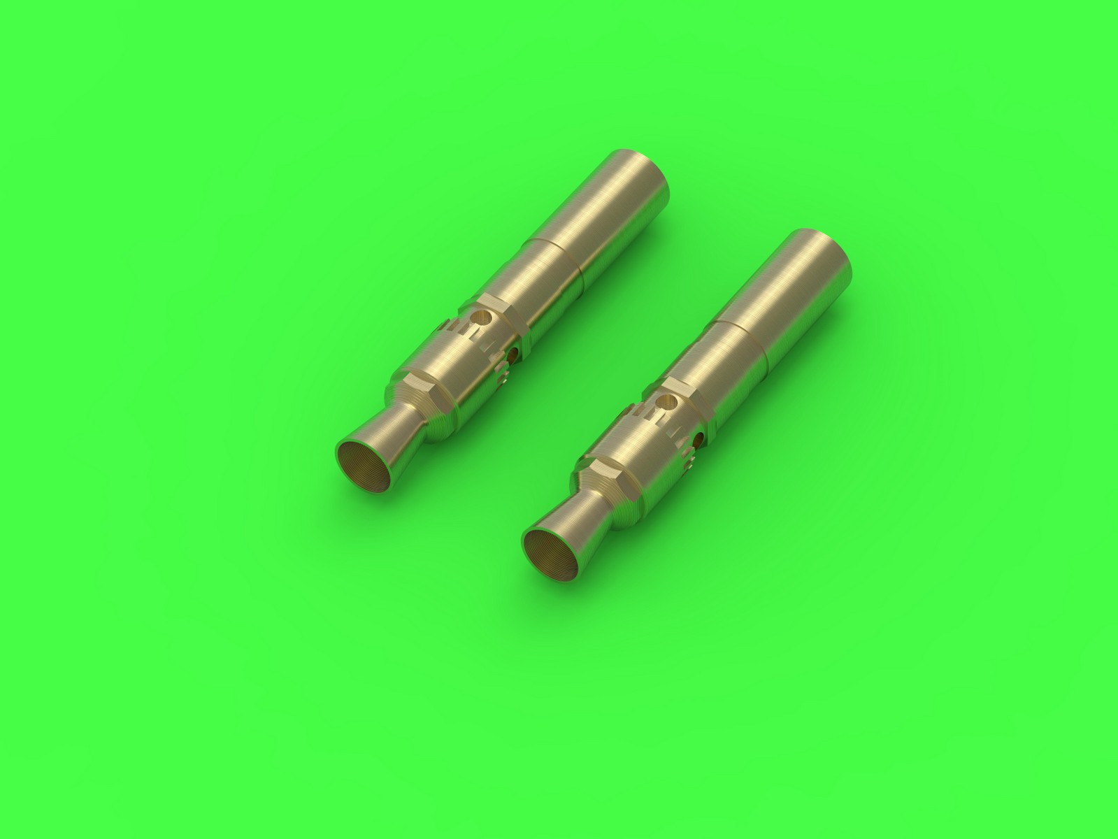 GM35028 MG 34 - German machine gun barrel tips