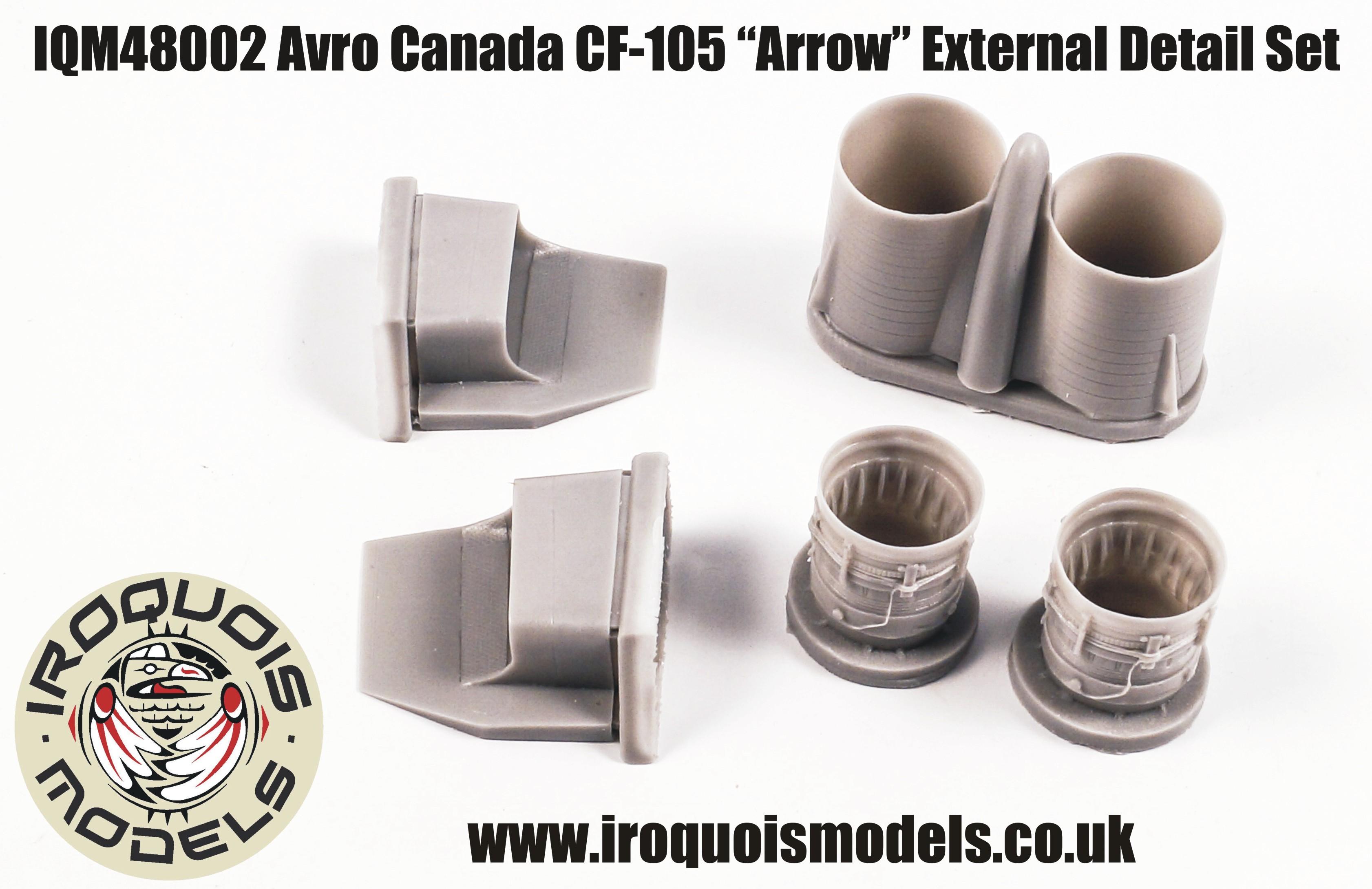 IQM48002 Avro-Canada CF-105 Avro Arrow exterior set
