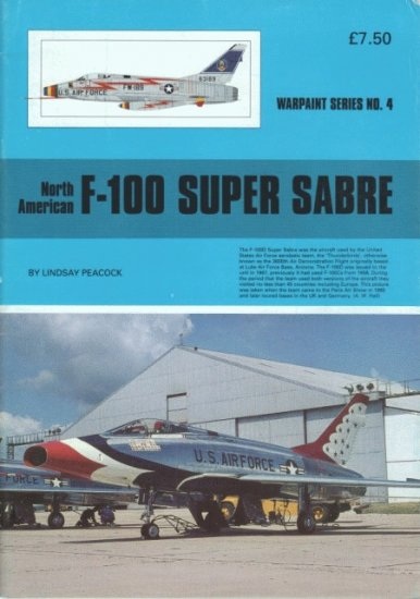 Warpaint Series 4 North-American F-100 Super Sabre