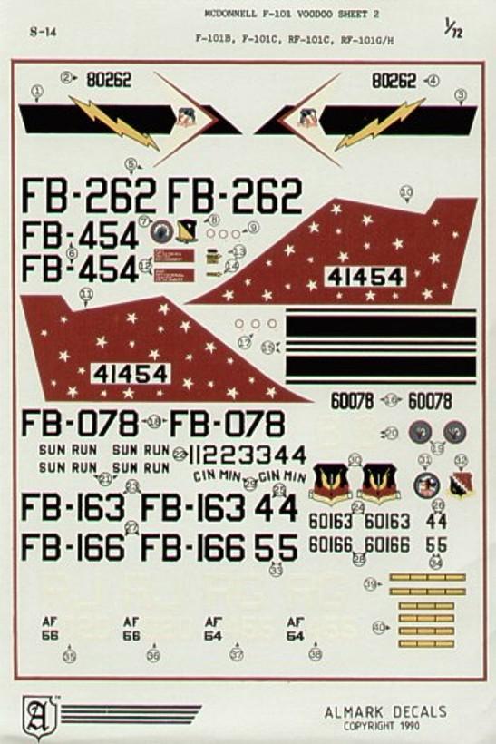 S14 McDonnell F-101 Voodoo