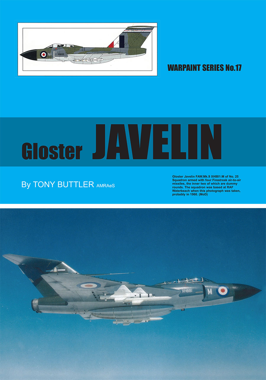 Warpaint Series 17 Gloster Javelin