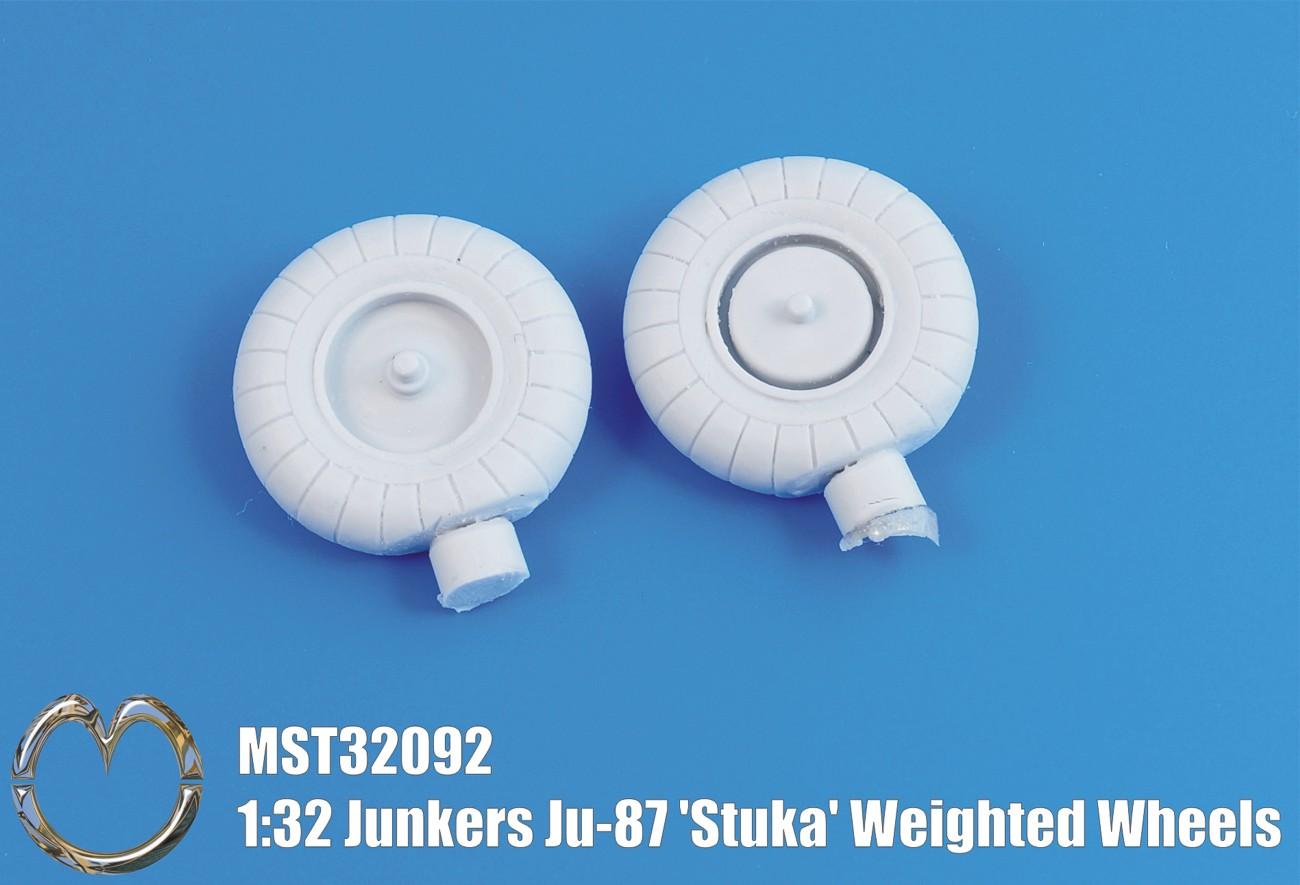 32092 Junkers Ju-87 'Stuka' Weighted Wheels