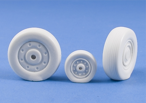 MST32002   Su-27 Flanker Weighted Wheels DISCONTINUED
