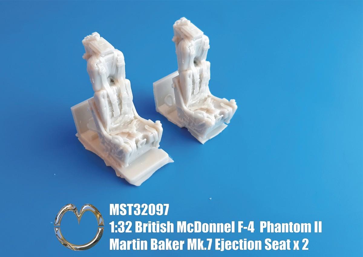 32097 McDonnel F-4 Phantom II Martin Baker Mk.7 Ejection Seat x 2