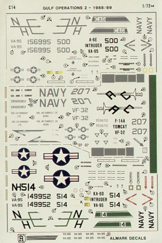 C14 Grumman A-6E / KA-6D Intruder