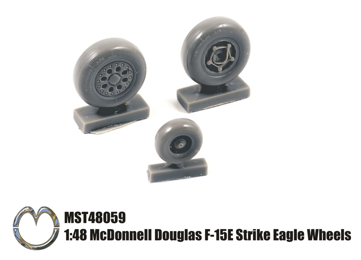MST48059 1:48 McDonnell Douglas F-15E Strike Eagle Wheels