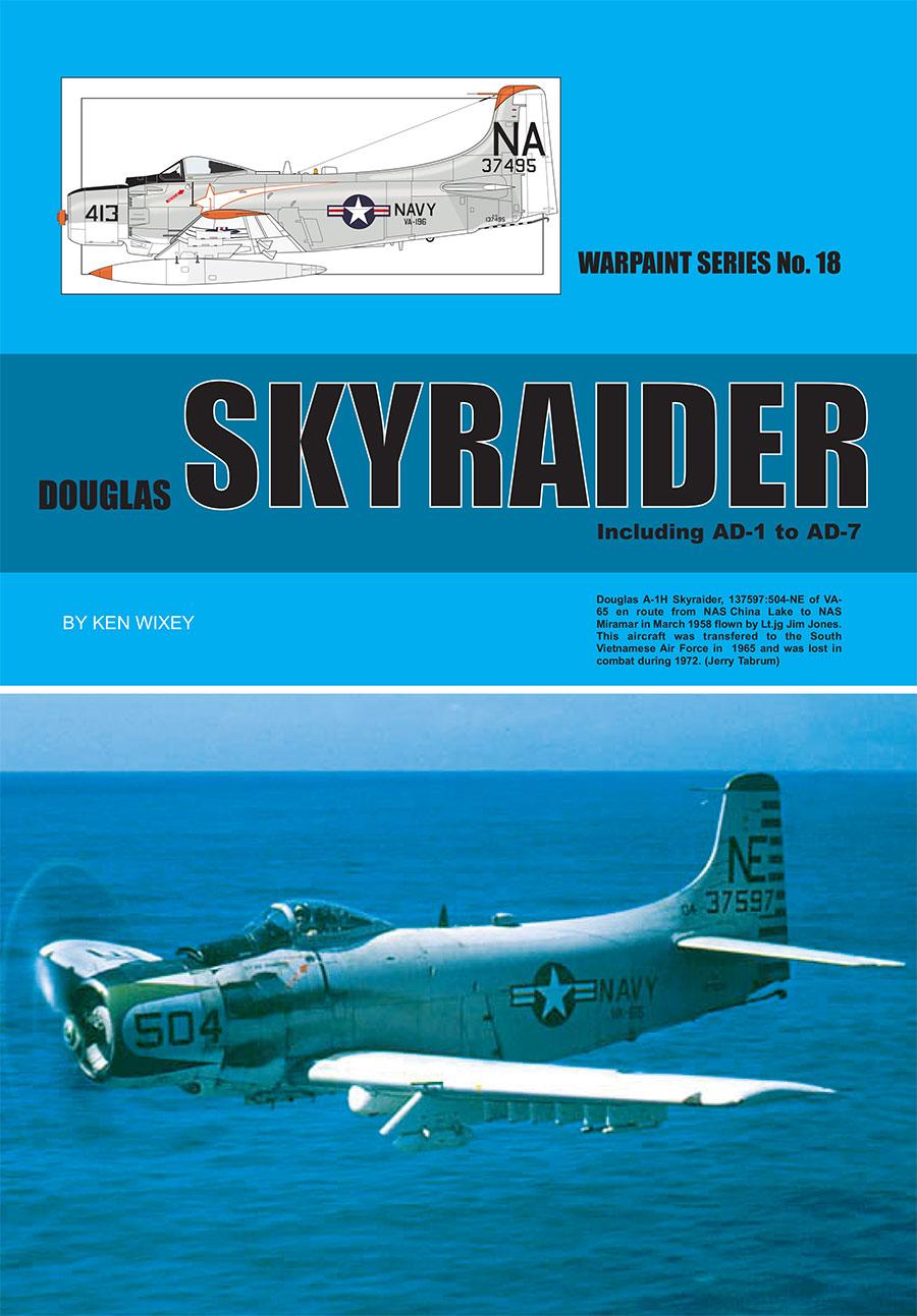 Warpaint Series 18 Douglas Skyraider