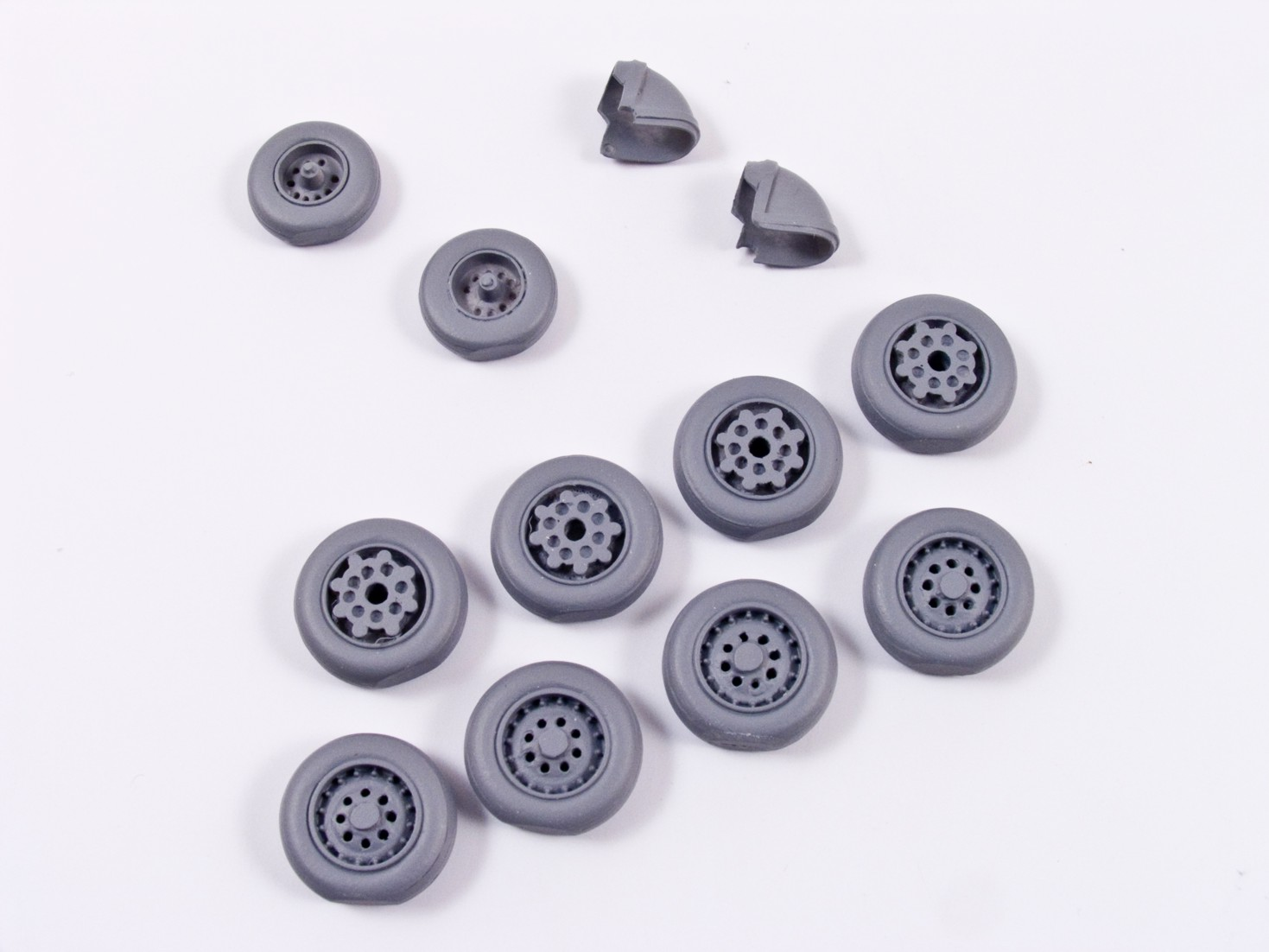 MST72002 BAe Nimrod MR.1 / MR.2 / MR.2P / R.1. Weighted Resin Wheels