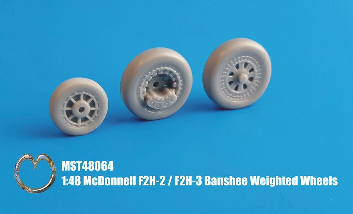 MST48064 McDonnell F2H-2 / F2H-3 Banshee Weighted Wheels