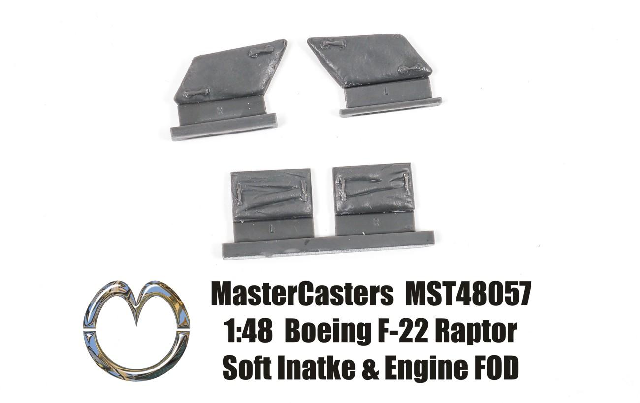 MST48057 1:48 Boeing F-22 Raptor Soft Intake & Engine FOD