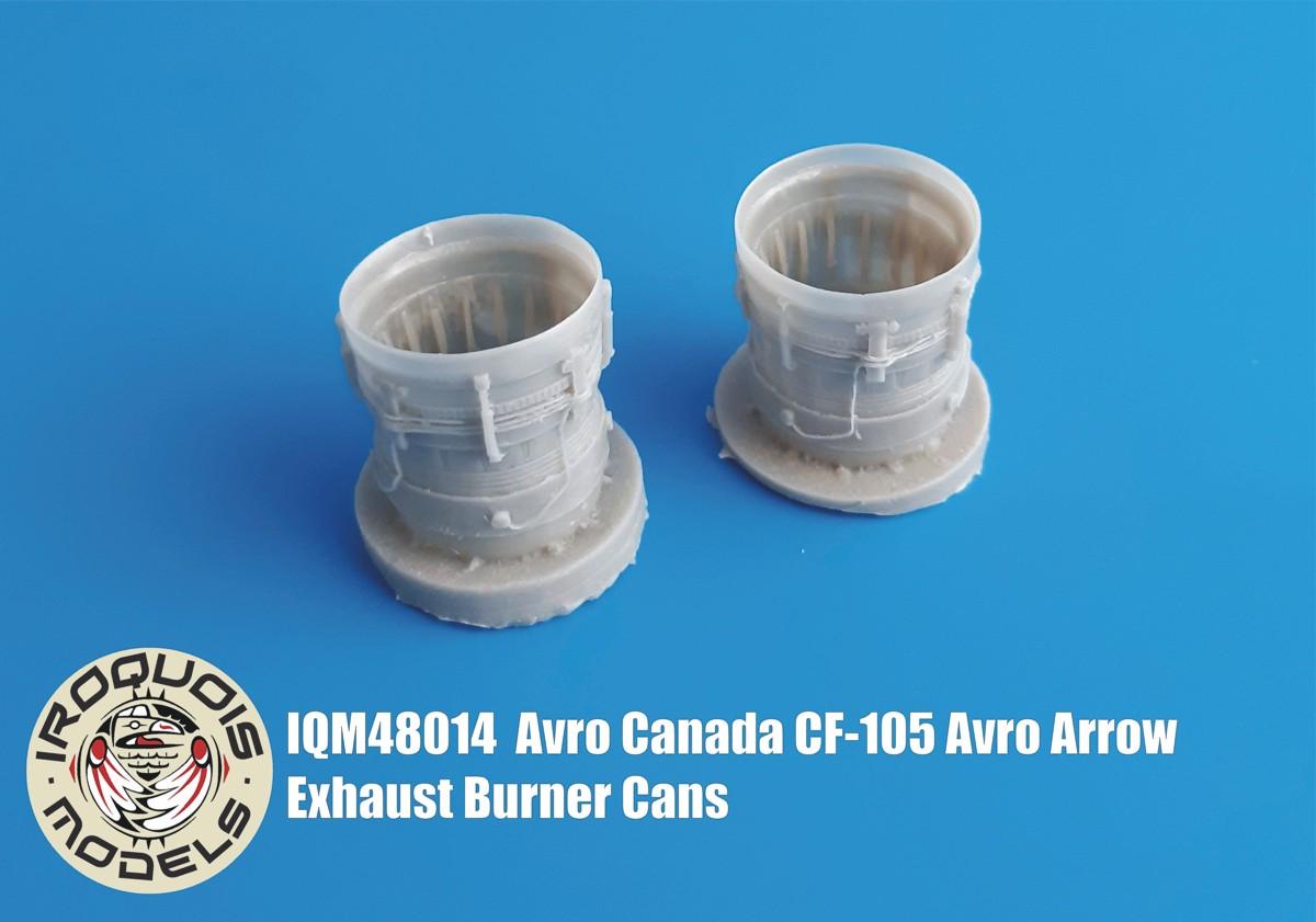 IQM48014 Avro Canada CF-105 Avro Arrow Exhausts