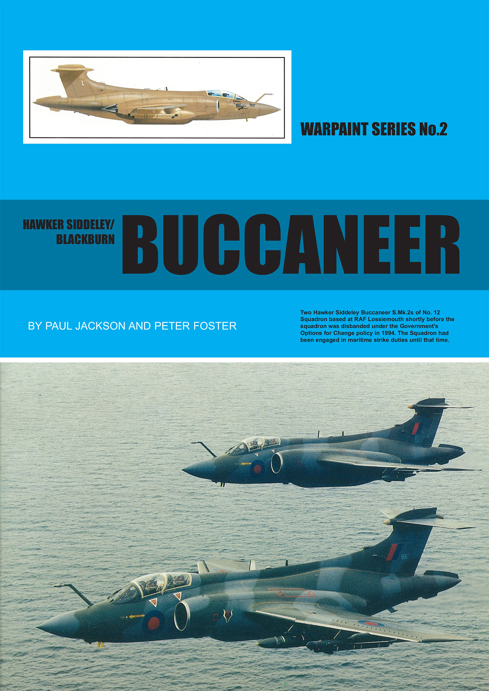Warpaint Series 2 Blackburn/Hawker-Siddeley Buccaneer